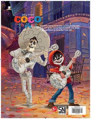 Puzzle Medium Coco - Miguel and Ernesto de La Cruz