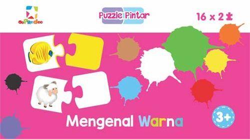 Puzzle Pintar: Mengenal Warna