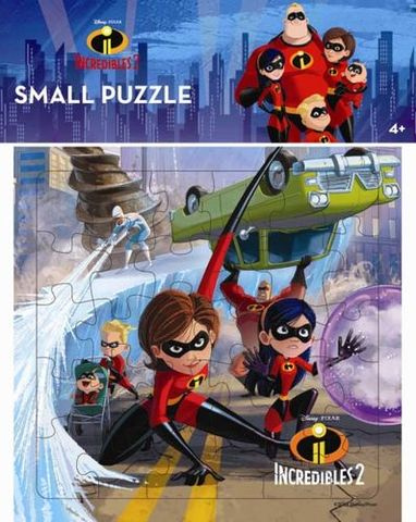 Opredo Small Puzzle Incredibles 2 : Saving the City
