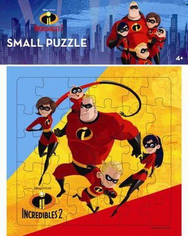Opredo Small Puzzle Incredibles 2 : A Super Family