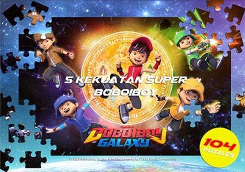 Opredo Big Puzzle Box BoBoiBoy Galaxy: 5 Kekuatan Super BoBoiBoy