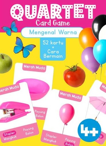 Opredo Quartet Card Game: Mengenal Warna