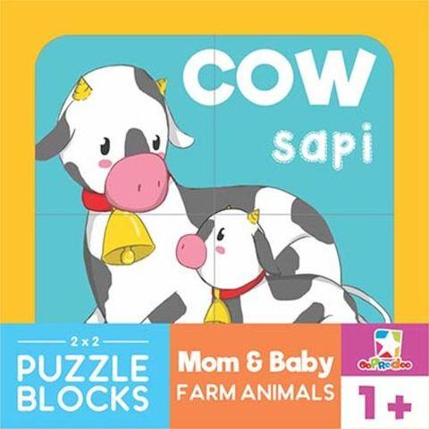 88 Gambar Puzzle Hewan Sapi Gratis Terbaik