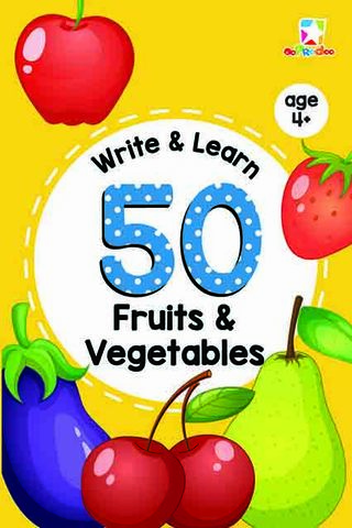 Opredo Write & Learn : 50 Fruits & Vegetables