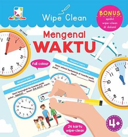 Opredo Wipe Clean Mengenal Waktu