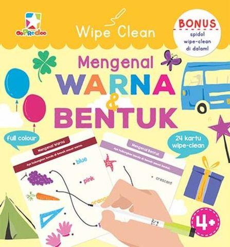 Opredo Wipe Clean Mengenal Warna & Bentuk