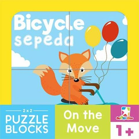 Opredo Puzzle Blocks: On The Move