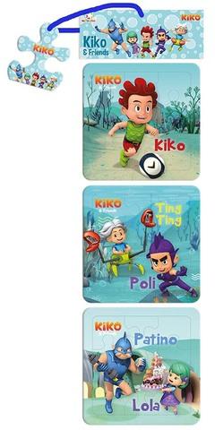 Opredo Puzzle Collections Kiko: Kiko & Friends