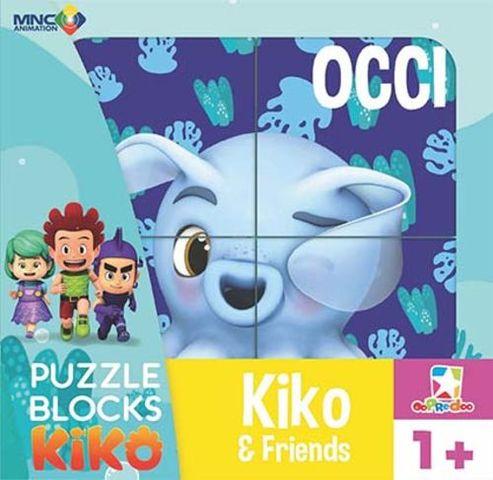 Opredo Puzzle Blocks Kiko: Kiko & Friends