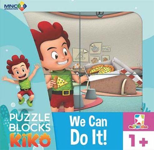 Opredo Puzzle Blocks Kiko: We Can Do It!