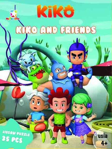 Opredo Puzzle Box Kiko: Kiko and Friends