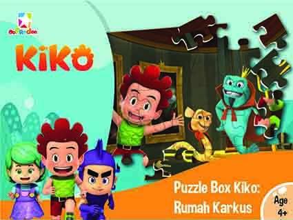 Opredo Puzzle Box Kiko: Rumah Karkus