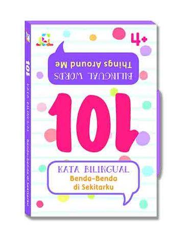 Opredo 101 Kata Bilingual - Benda - benda di Sekitarku