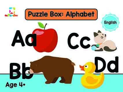 Opredo Puzzle Box: Alphabet