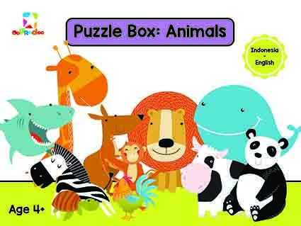 Opredo Puzzle Box: Animals