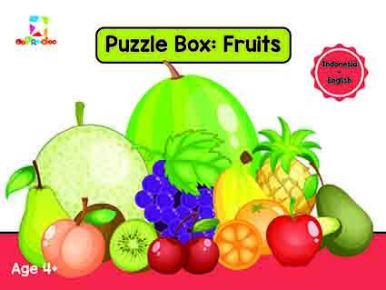 Opredo Puzzle Box: Fruits