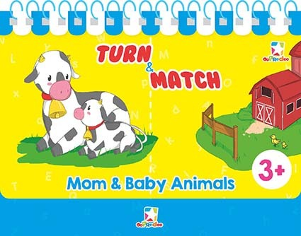 Opredo Turn & Match: Mom & Baby Animals