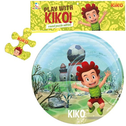 Opredo Round Puzzle Kiko: Play with Kiko!