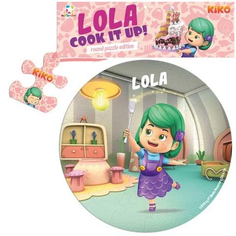 Opredo Round Puzzle Kiko: Lola Cook It Up!
