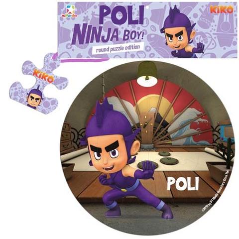 Opredo Round Puzzle Kiko: Poli Ninja Boy!