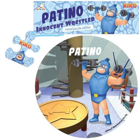 Opredo Round Puzzle Kiko: Patino Innocent Wrestler