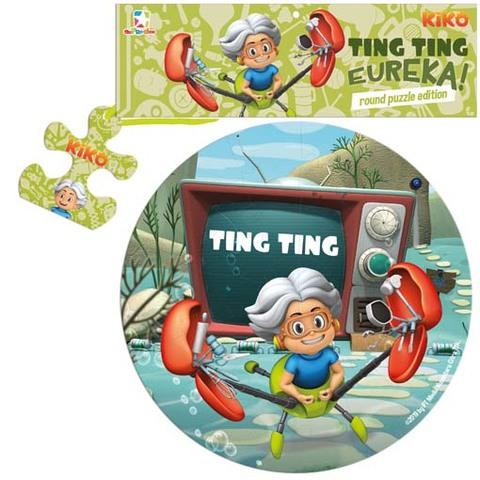 Opredo Round Puzzle Kiko: Ting Ting Eureka!