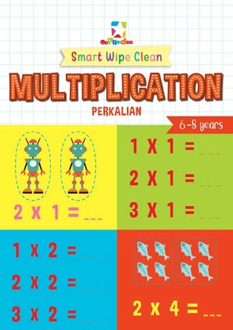 Opredo Smart Wipe Clean: Multiplication