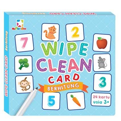 Opredo Wipe Clean Card - Berhitung