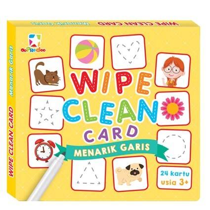 Opredo Wipe Clean Card - Menarik Garis