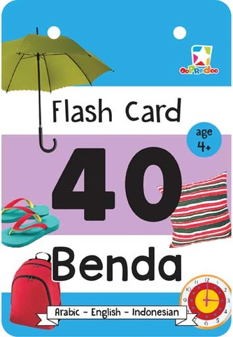Opredo Flash Card Hijaiah: 40 Benda
