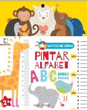 Opredo Watch Me Grow: Pintar Alfabet Binatang