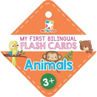 Opredo My First Bilingual Flash Cards: Animals
