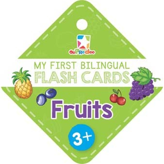 Opredo My First Bilingual Flash Cards: Fruits