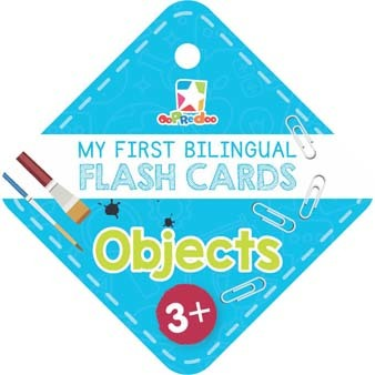 Opredo My First Bilingual Flash Cards: Objects