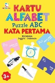Opredo Kartu Alfabet: Puzzle ABC Kata Pertama