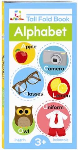 Opredo Tall Fold Book : Alphabet