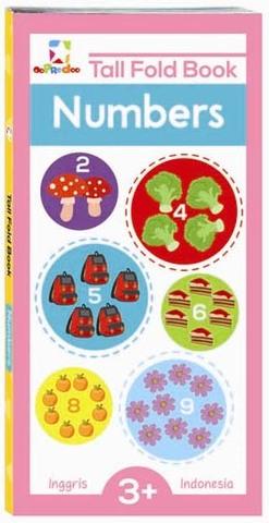 Opredo Tall Fold Book : Numbers