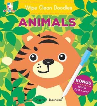 Opredo Doodle Wipe Clean: Animals