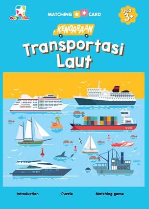 Opredo Matching Card Kendaraan: Transportasi Laut