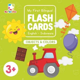 Opredo My First Bilingual Flash Cards: Objects & Colors