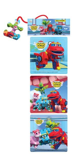 Opredo Puzzle Collection: Pose GoGo Dino