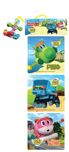 Opredo Puzzle Collection: Teman Rex GoGo Dino