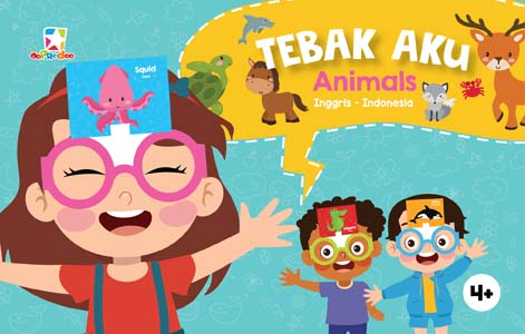 Opredo Question Card Tebak Aku: Animals