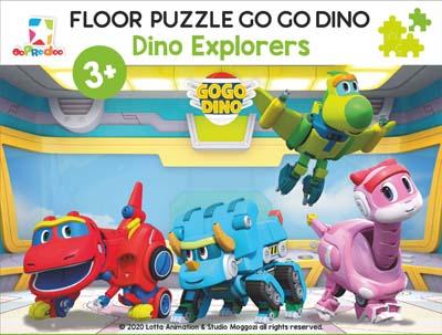 Opredo Floor Puzzle Go Go Dino: Dino Explorers