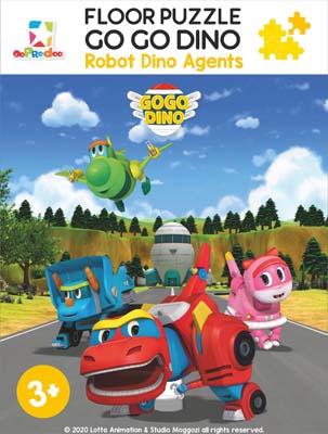 Opredo Floor Puzzle Go Go Dino: Robot Dino Agents