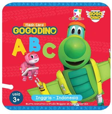 Opredo Flash Card Gogo Dino: ABC