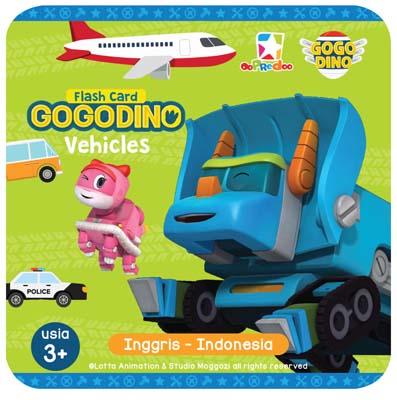 Opredo Flash Card Gogo Dino: Vehicles