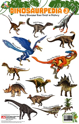 Opredo Poster Dinosaurpedia 3