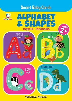 Opredo Smart Baby Cards: Alphabet & Shapes