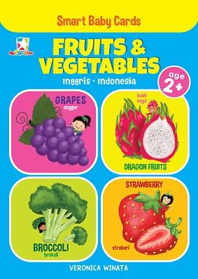 Opredo Smart Baby Cards: Fruits & Vegetables